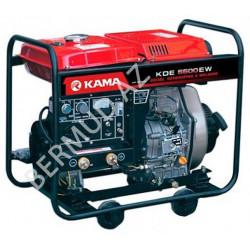 Дизельный генератор Kama KDE5500EW