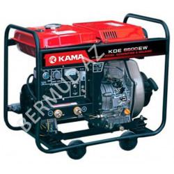Дизельный генератор Kama  KDE6500EW