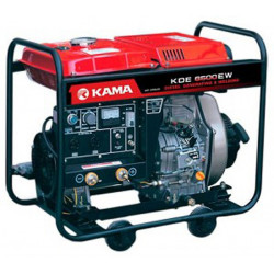 Dizel generatoru Kama  KDE6500EW