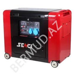 Səssiz dizel generatoru Senci SCD7000S