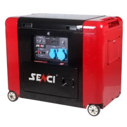 Беззвучный  дизельный генератор Senci SCD8000S