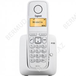 Simsiz telefon Gigaset A120 RUS White