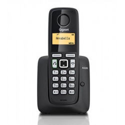 Simsiz telefon Gigaset A220 RUS Black