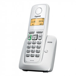 Simsiz telefon Gigaset A220 RUS White