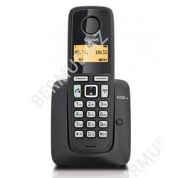 Simsiz telefon Gigaset A220A  RUS Black