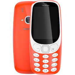 Mobil telefon Nokia 3310 DS Warm Red