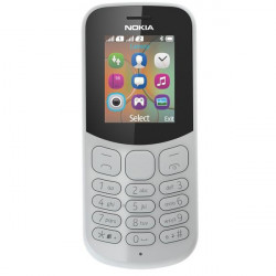 Mobil telefon Nokia 130 DS New Grey