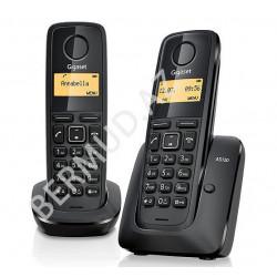 Simsiz telefon Gigaset A120 DUO RUS