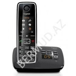 Simsiz telefon Gigaset C530A RUS BLACK