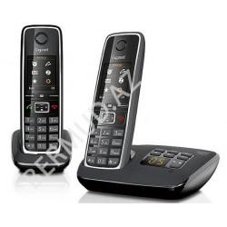 Simsiz telefon Gigaset C530A DUO BLACK
