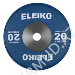Ağır atletika üzrə yarışlar üçün disk Eleiko...