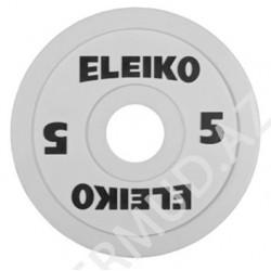 Ağır atletika Eleiko IWF / məşq diski - 5 kq RC...