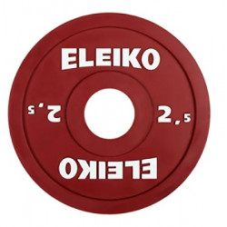Ağır atletika Eleiko IWF / məşq diski -2.5kq RC...
