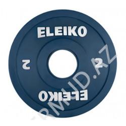 Ağır atletika Eleiko IWF / məşq diski - 2 kq FG...