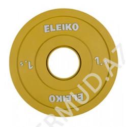Ağır atletika Eleiko IWF / məşq diski - 1.5 kq FG...