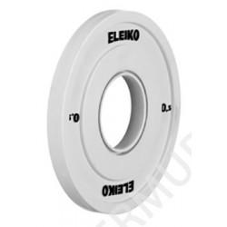 Ağır atletika Eleiko IWF / məşq diski - 0.5 kq 124-0005