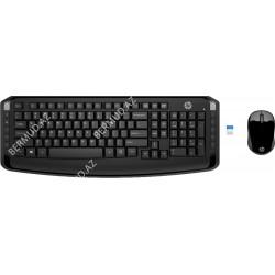 Комплект клавиатура и компьютерная мышь HP Wireless 300