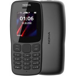 Mobil telefon Nokia 106 DS Grey