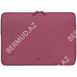 Noutbuk üçün çanta Rivacase Laptop Sleeve 7703 13.3 Red