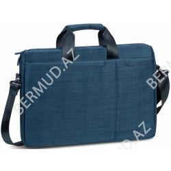 Noutbuk üçün çanta Rivacase Laptop Bag 8335 15.6 Blue