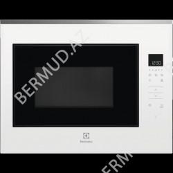 Quraşdırılan mikrodalğalı soba Electrolux KMFE264TEW