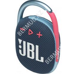 Portativ audio JBL Clip 4 Blue Pink