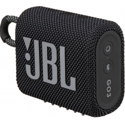 Portativ audio JBL GO 3 Black