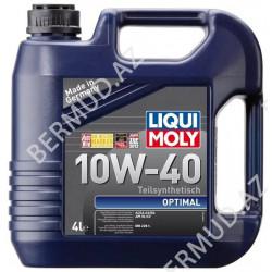 Yarım sintetik mühərrik yağı Liqui Moly Optimal...