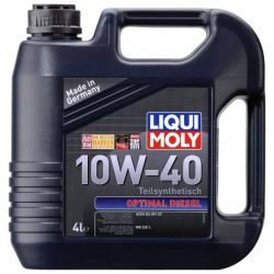 Полусинтетическое моторное масло Liqui Moly Optimal...
