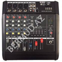 Yamaha gücləndiricisi MY4D-USB ilə mikser