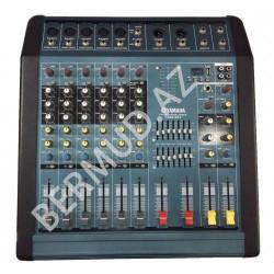 Yamaha PM60-MP3 güc gücləndiricisi ilə mikser