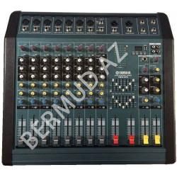 Yamaha PM80-MP3 güc gücləndiricisi ilə mikser