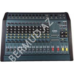 Yamaha PM120-MP3 güc gücləndiricisi ilə mikser