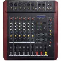Yamaha DMX-600D gücləndiricisi ilə mikser