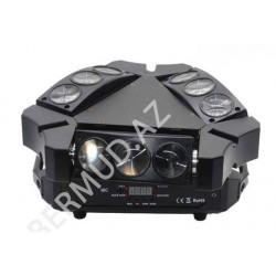 LED işıq indikatoru LED MOVING HEAD BEAM LIGHT 9X3 RGB