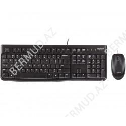 Комплект клавиатура и компьютерная мышь Logitech MK120